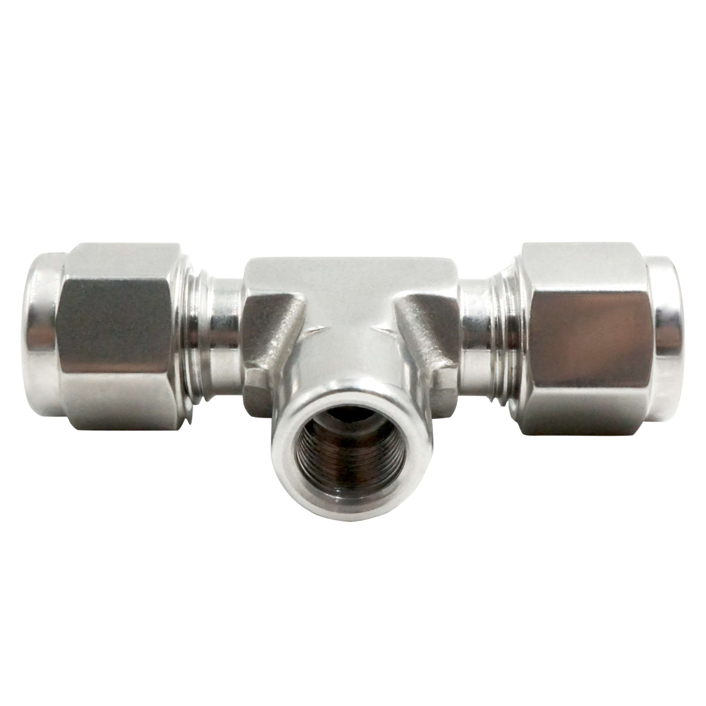 Misting connector, misting fitting, compressor fitting for
